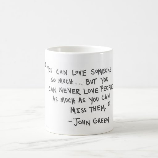 John Green The Fault In Our Stars Mug