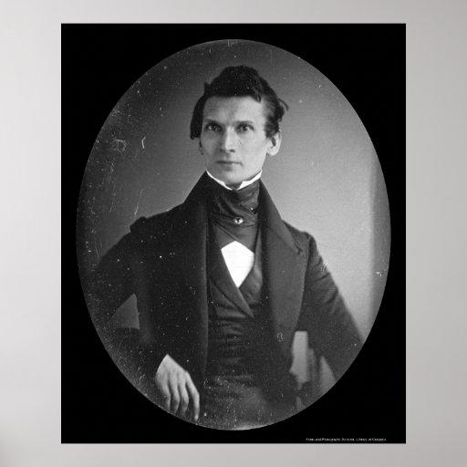 John H. Frederick Sachse Daguerreotype 1841 Poster