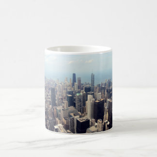 John Hancock Center and Trump Tower Coffee Mug