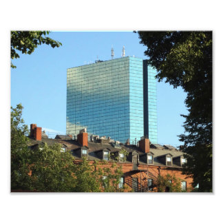John Hancock Tower Back Bay Boston Skyline Photo Print