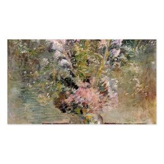 John Henry Twachtman- Flowers Business Cards