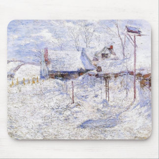 John Henry Twachtman- Last Touch of Sun Mouse Pad