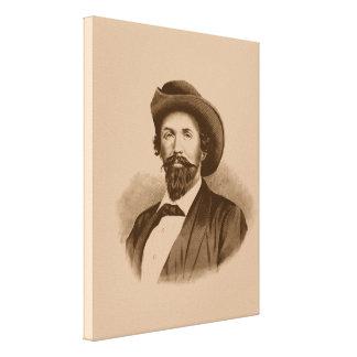 John Hunt Morgan Stretched Canvas Print