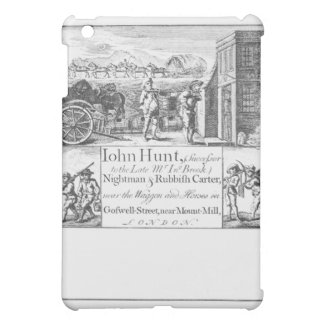 John Hunt, Nightman and Rubbish Carter, near the W iPad Mini Cover