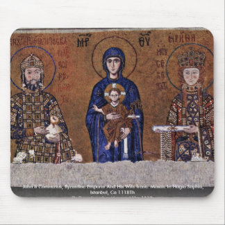 John Ii Comnenus, Byzantine Emperor And His Wife Mouse Pad