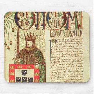 John II  King of Portugal Mouse Mat
