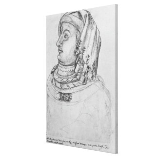 John III the Pitiless, Duke of Canvas Print