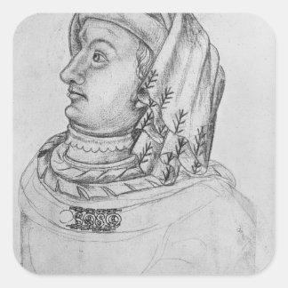 John III the Pitiless, Duke of Square Sticker