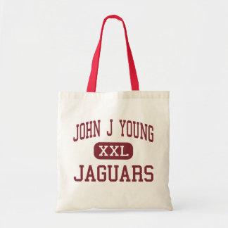 John J Young - Jaguars - Middle - Mishawaka Tote Bag