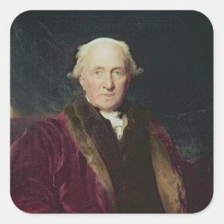 John Julius Angerstein, 1816 Square Sticker