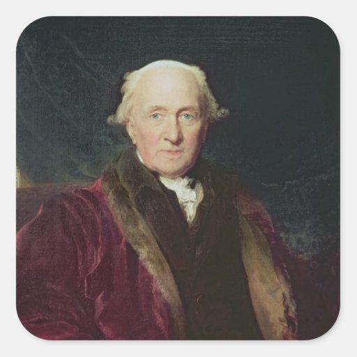 John Julius Angerstein, 1816 Sticker