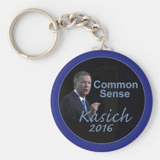 John KASICH 2016 Basic Round Button Key Ring