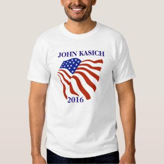 John Kasich 2016 Flag T Shirt