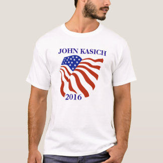 John Kasich 2016 Flag T-Shirt