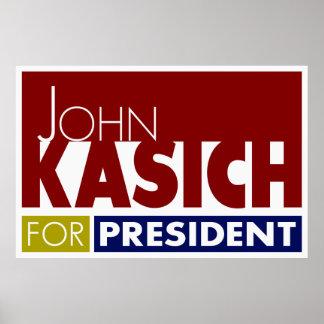 John Kasich for President V1 Poster
