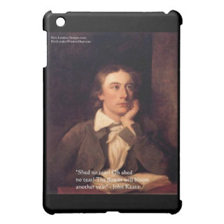 """John Keats """"Blossom"""" Quote Gifts & Cards Cover For The iPad Mini"""