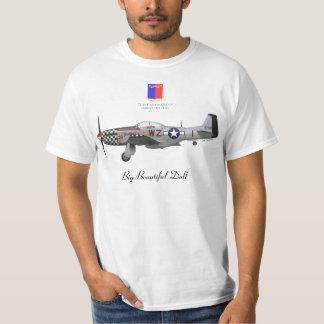 "John Lander' S P-51 ""Big Beautiful Fraud "" T-shirts"