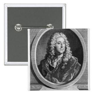 John Law 15 Cm Square Badge