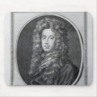 John, Lord Somers, engraved by John Golder, 1785 Mouse Pad