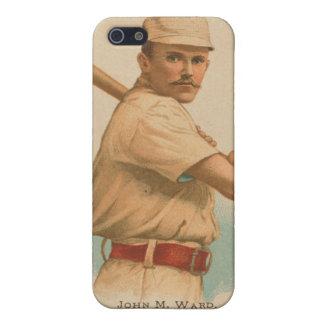 John M Ward Baseball Card Cover For iPhone 5/5S