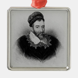 John Maitland  from 'Lodge's British Silver-Colored Square Decoration