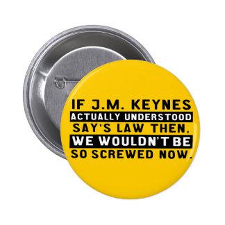John Maynard Keynes & Say's Law Button