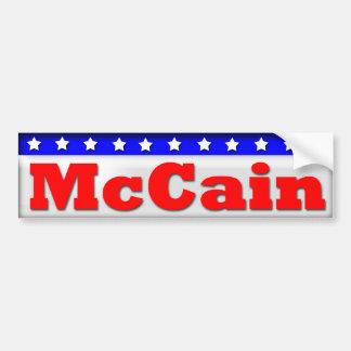 John McCain 2012 Bumper Sticker