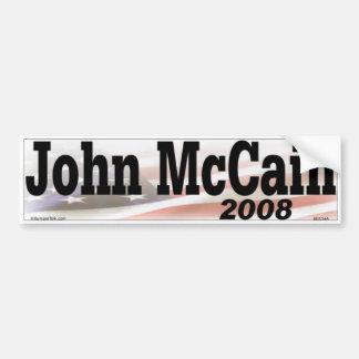 John McCain Bumber Sticker Bumper Stickers