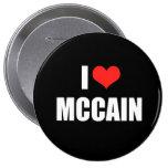 JOHN MCCAIN Election Gear Buttons