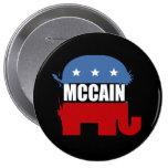 JOHN MCCAIN Election Gear Pinback Buttons
