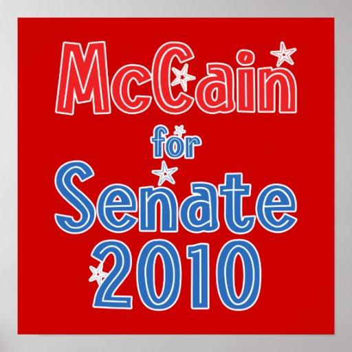 John McCain for Senate 2010 Star Design Poster