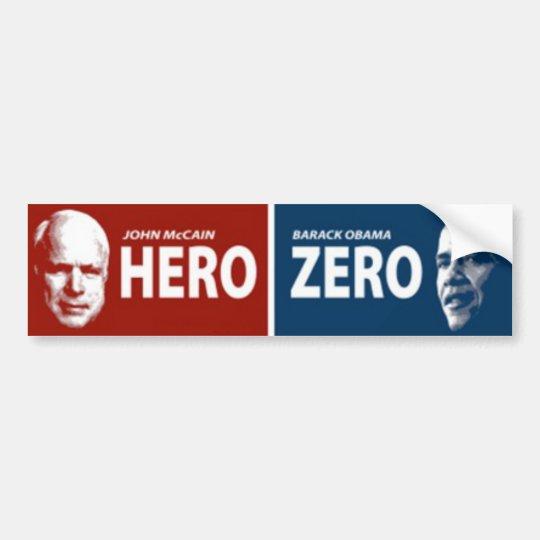 John McCain Hero Bumper Sticker