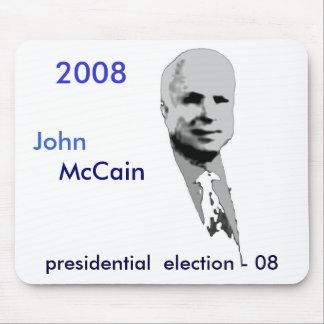 John, McCain Mouse Mats