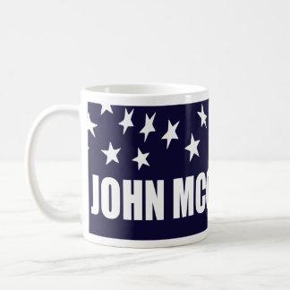 John McCain President 2016 American Flag Basic White Mug