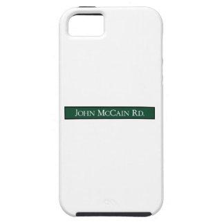 John McCain Road Road Sign Texas USA iPhone 5 Covers
