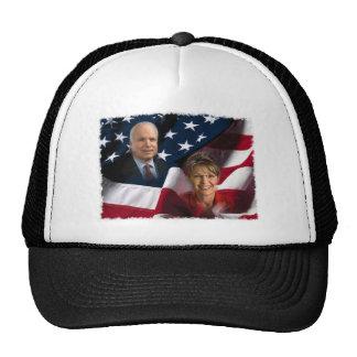 John McCain & Sarah Palin, 2008 Elections Hats