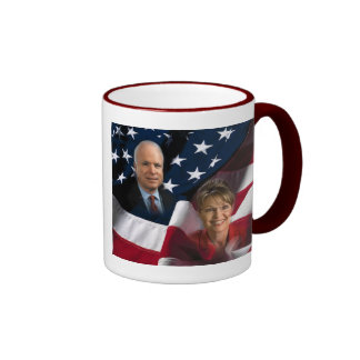 John McCain & Sarah Palin, 2008 Elections Coffee Mugs