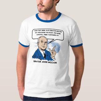 John McCain Sez T-Shirt