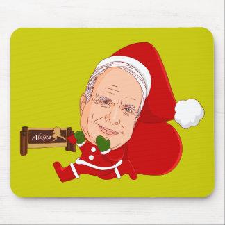 John McCain's New Job Doodle Art Mousepad