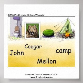 John Mellencamp Parody Poster