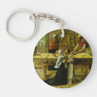John Millais- Christ in the House of His Parents Keychains