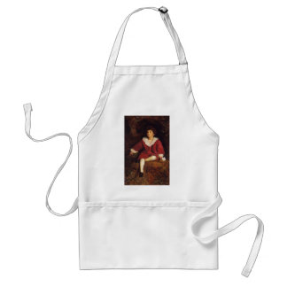 John Millais- The Honourable John Nevile Manners Aprons
