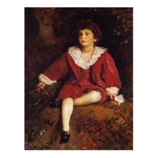 John Millais- The Honourable John Nevile Manners Post Card