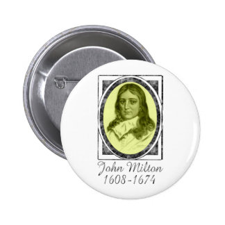 John Milton Pinback Buttons
