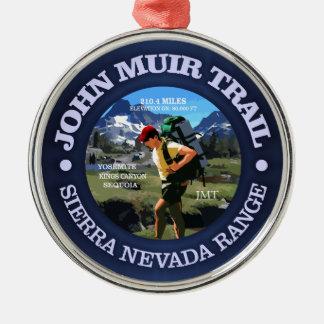 John Muir Trail (Hiker C) Christmas Ornament