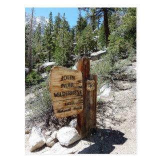 John Muir Wilderness Postcard