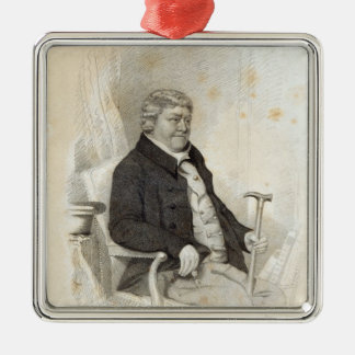 John Nichols, engraved by H. Meyer, 1825 Christmas Ornament