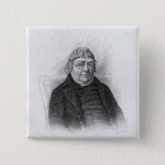 John Nichols, engraved by Woolnoth 15 Cm Square Badge