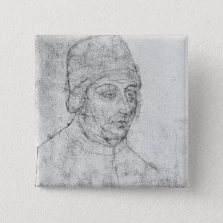 John of Burgundy, bishop of Cambrai 15 Cm Square Badge
