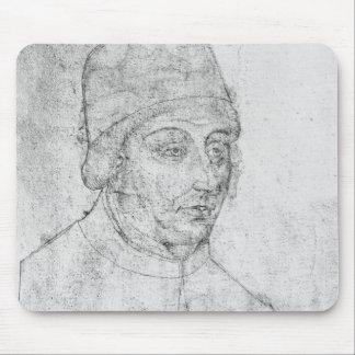 John of Burgundy, bishop of Cambrai Mouse Mat